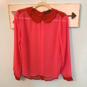 W118 By Walter Baker Color Block Top